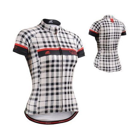 Бренд Китая Женские Короткие Велоспорт Трикотажные Изделия Велосипед Одежда Эргономичный Дизайн Тонкие облегающие MTB Велосипед Топы Рубашки S-XXL