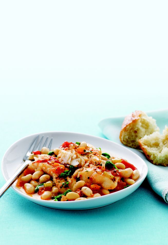 Comfort food, with Italian flare! Try our #recipe for Tuscan bean and #haddock braise for a warm and hearty lunch or dinner.