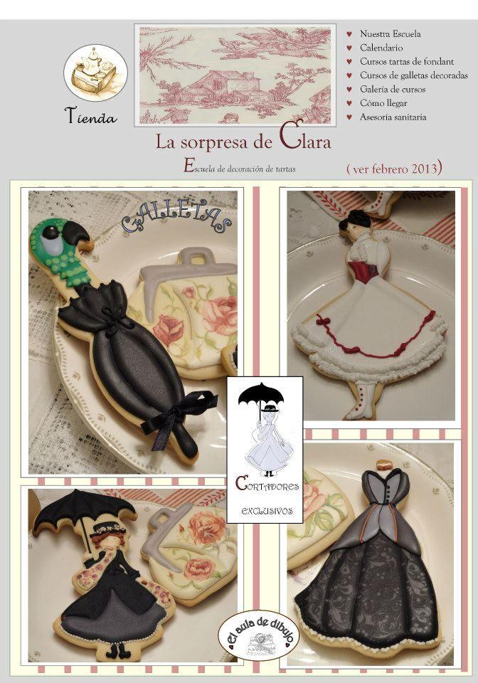 Mary Poppins, vintage fashions, La sorpresa de Clara