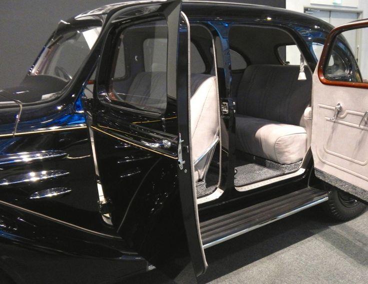 Toyoda Model AA Rear Seat