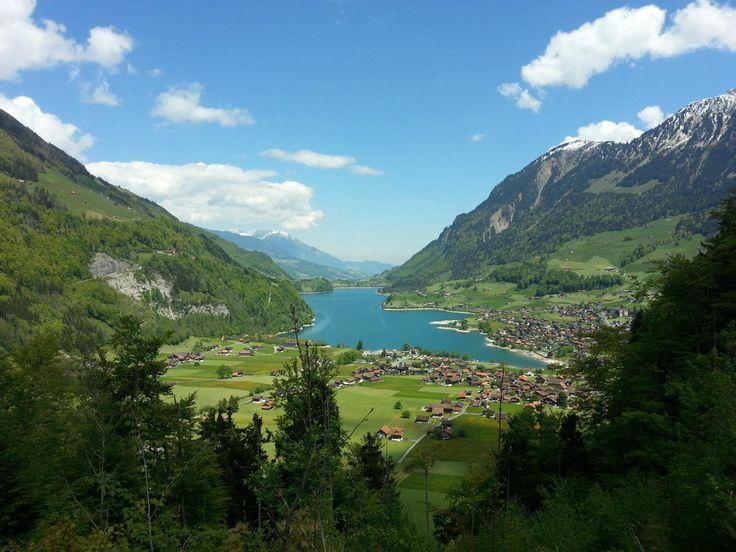 Viewing Point Schoenbuehel (along the Brünig Pass) - Lungern, Switzerland
