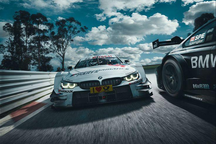 International DTM Motorsport Season Start 2016.Art Director: Nicolas Klein