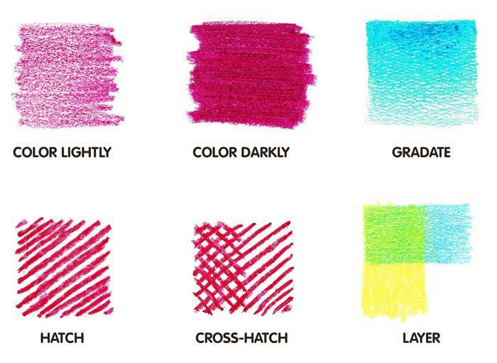 1000+ Ideas About Color Pencil Techniques On Pinterest