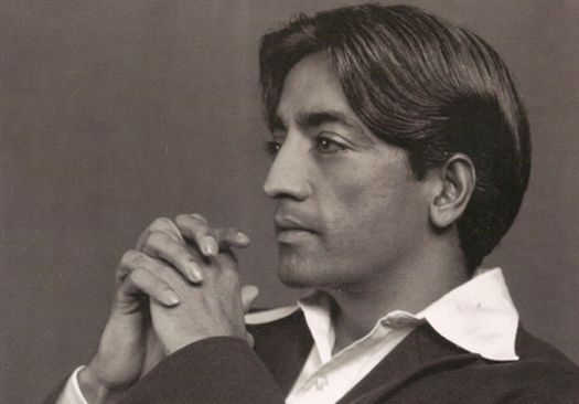 "Jiddu Krishnamurti. ""Discovered"" as a boy on a beach in India by the theosophist Leadbetter & proclaimed the manifestation of the Maitreya (a la Sri Krishna & Jesus). As Krishnamurti matured, he wanted nothing to do with the reverence and adoration of the masses & quit Theosophy altogether.  He was a lifelong celibate."