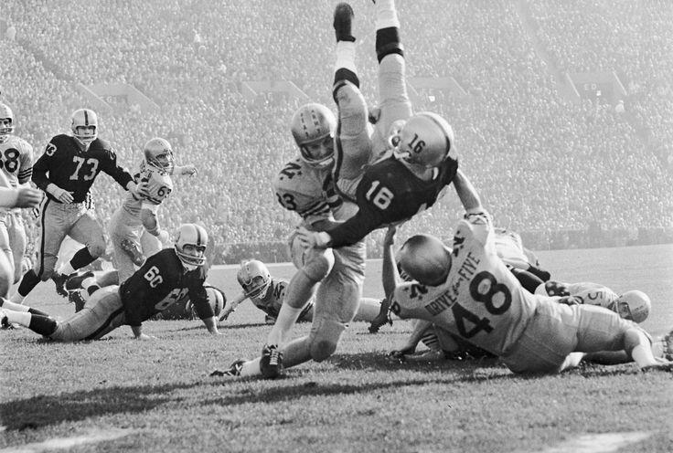 Army vs Navy football game (1963)