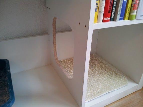 IKEA Hackers: EXPEDIT Cat Litter Box | Fantastic idea!
