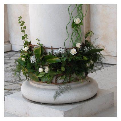 allestimenti floreali per chiese - fotografie di matrimonio www.maisonstudio.it ©