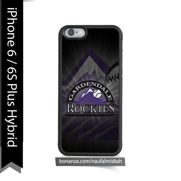 Colorado Rockies Logo iPhone 6/6s PLUS HYBRID Case Cover - Cases, Covers & Skins