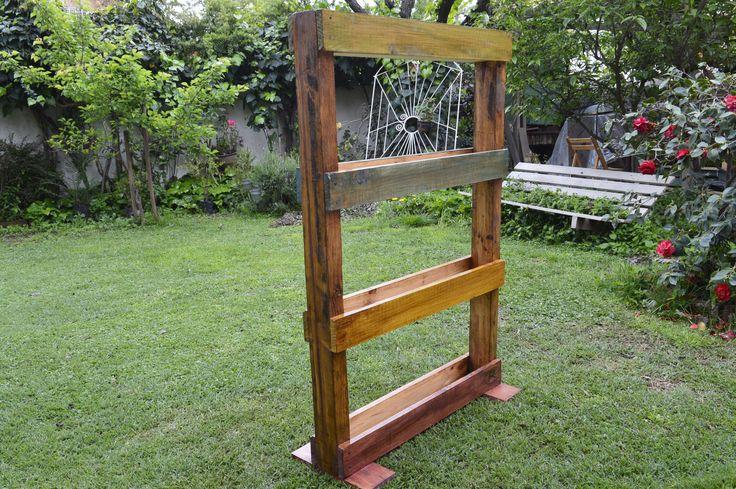 -Huerta Vertical Pallet -1m.22cm x 80cm -4 niveles
