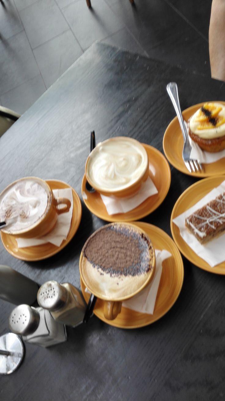 Coffee for three at Cibo Della!