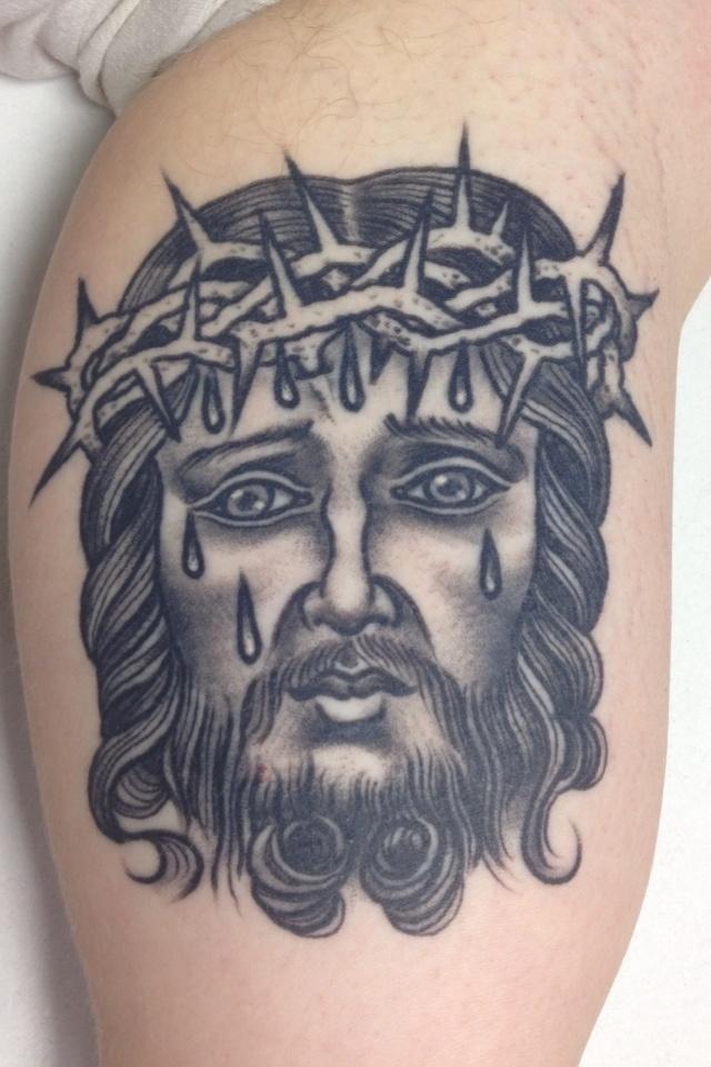 60 best jesus tattoo images on pinterest. Black Bedroom Furniture Sets. Home Design Ideas