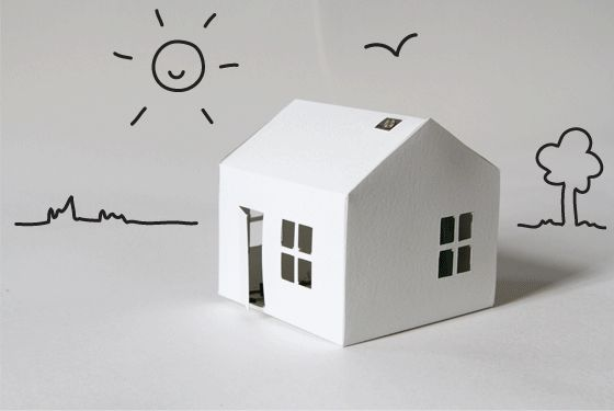 Making Light-Up Paper Houses - Bare Conductive This is so cool! Make a paper house that lights up!