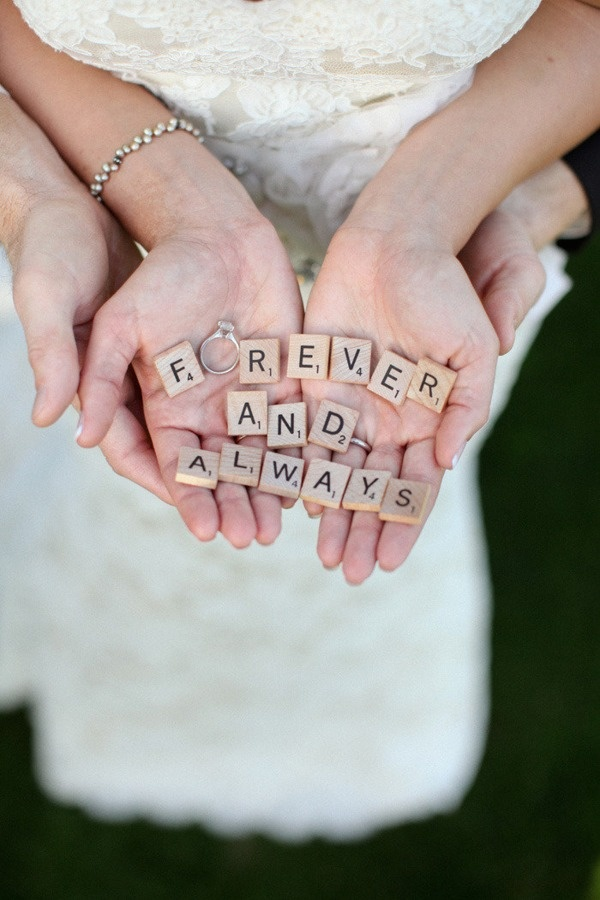 """""""Now and Forever"""" and use both rings"""