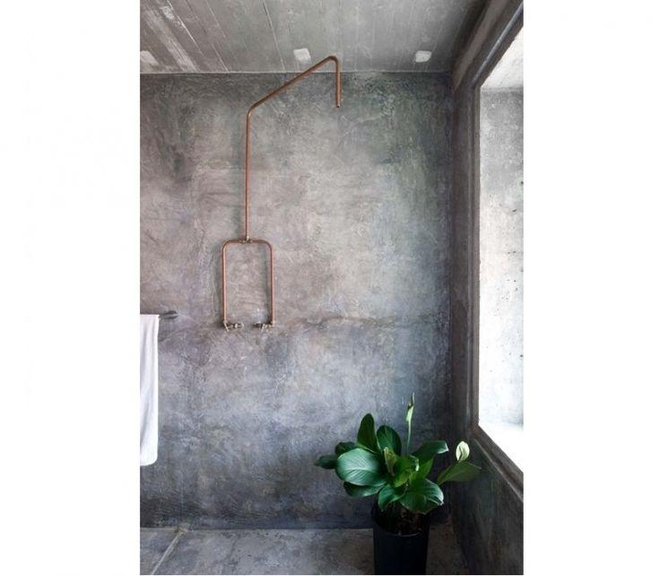 10x betonnen badkamers