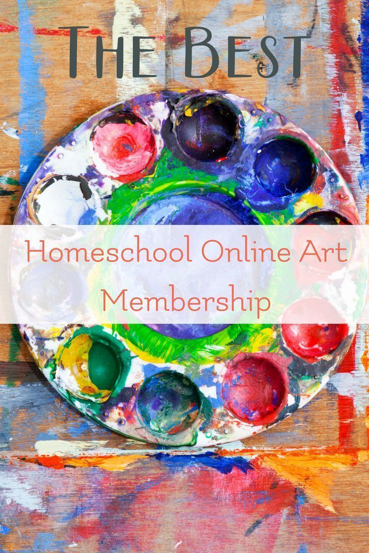 The Best Homeschool Online Art Membership | Online homeschool ...