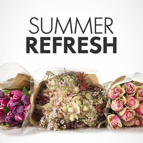 Brighten your home for summer with quality cut flowers from Woolworths in the Riverside Mall and SAVE R20 on their bulk speciality roses.  SHOP flowers > http://woolies.me/NdjD
