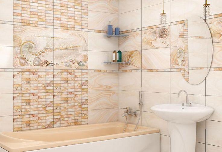 керамическая плитка  для ванной комнаты Уралкерамика Жемчуг