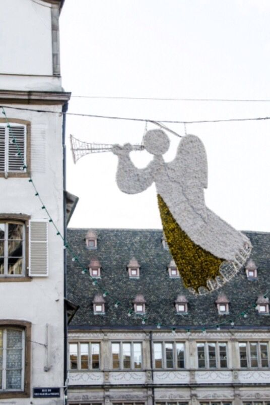 """This Christmas angel is from our feature """"Spirits of Strasbourg"""""""