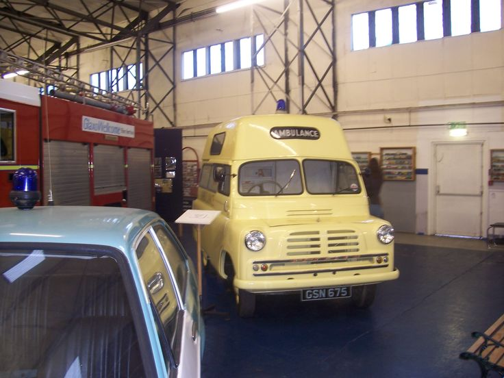 Vintage ambulances from the collection of k burydny