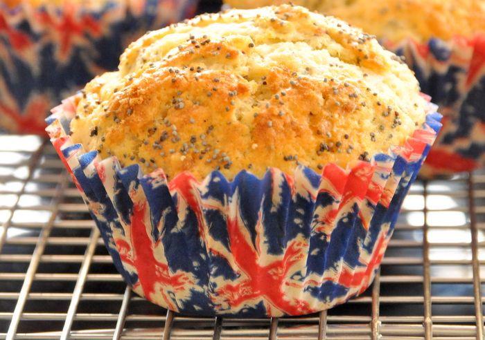 Muffins citron pavot lait ribot