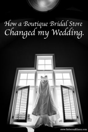 How a boutique bridal store changed this brides wedding. Great article on the power of customer service