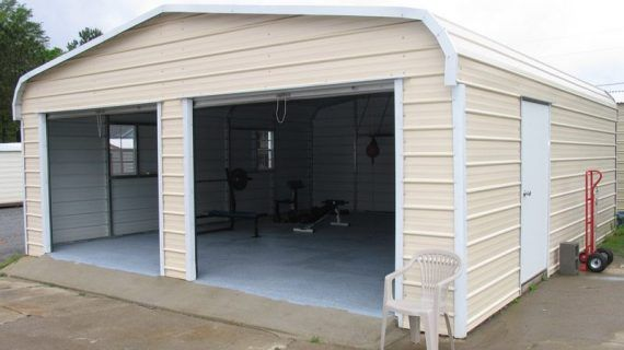 American Steel Carports Near Me Are Becoming More Popular Than Garages Attributable To Several Reasons Like Sturdiness Ease Steel Carports Carport Run In Shed