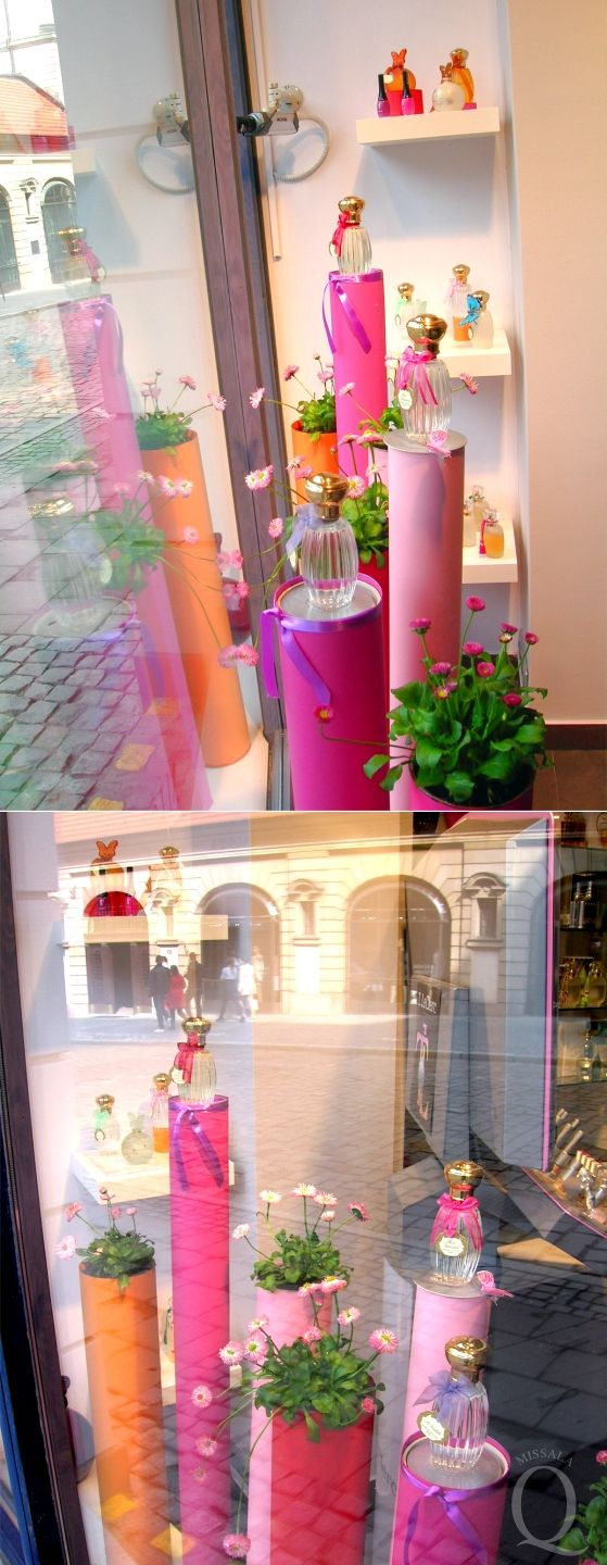 Perfumery Quality Poznan - spring widnow display /2012/