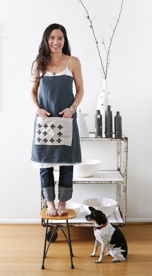 Ceramist Rae Dunn S Guide To The Simple Life Aprons
