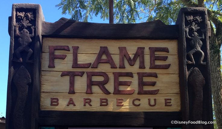 Review: Lunch at Animal Kingdom's Flame Tree Barbecue -- Including the New FULL Slab of Ribs!