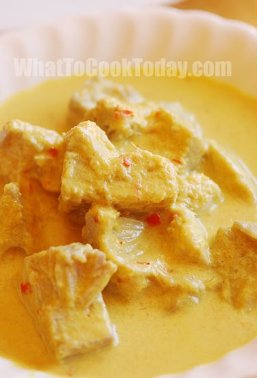 Indonesian young jackfruit curry (sayur nangka) from whattocooktoday.com, a treasure trove of SE Asian recipes