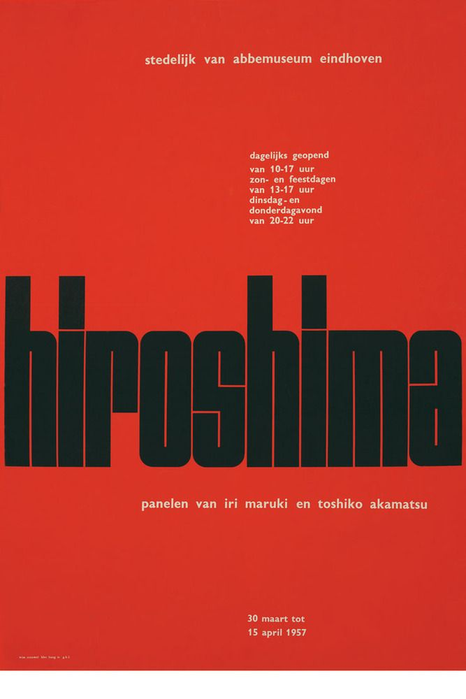 Hiroshima /Wim Crouwel