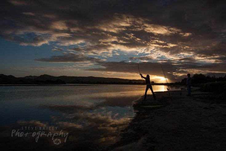 Sunset fishing  by SteveBailey