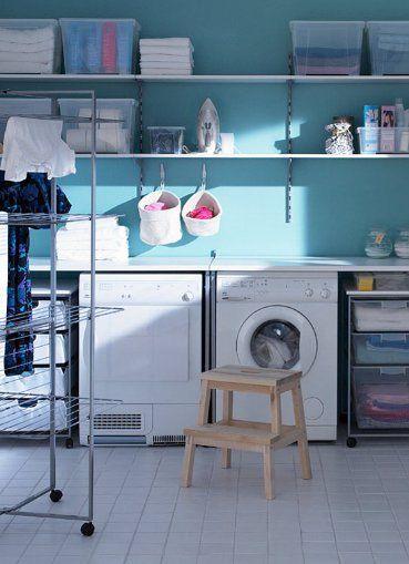 ikea laundry room - Google Search