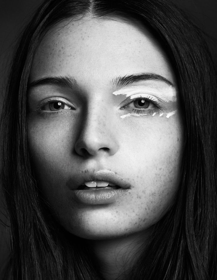 stroke of white #beauty #makeup #eyes #freckles: