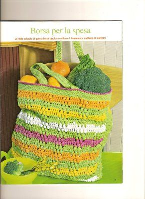 crochet and more by simo: BORSA DELLA SPESA- SHOPPING BAG