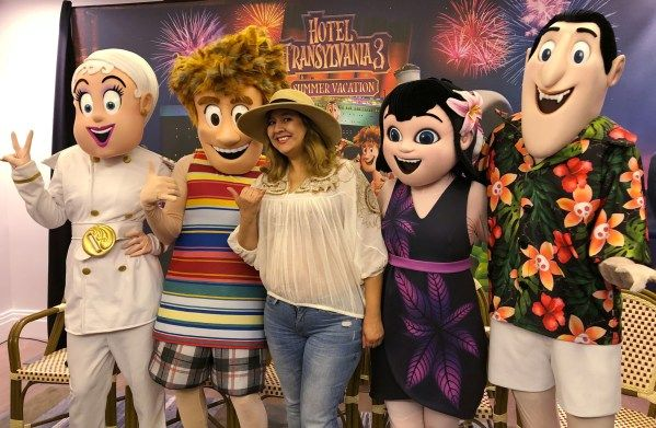 Queen Bee Latina Latina Lifestyle Blogger With A Passion For Adventure Travel Culture Food And Entertainme Sony Pictures London Hotels Hotel Transylvania