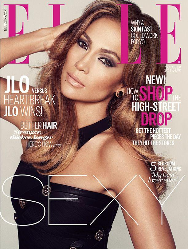 Jennifer Lopez - Oct. 2014 U.K. Cover