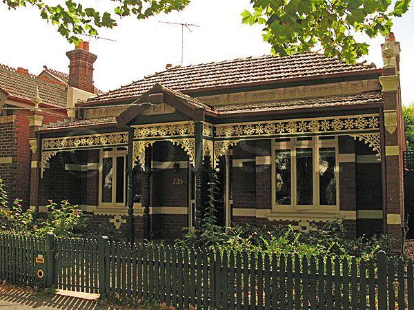 stock photo image: Australia, vic, victoria, melbourne, house, houses, housing, terrace, terraces, terrace house, terrace houses.