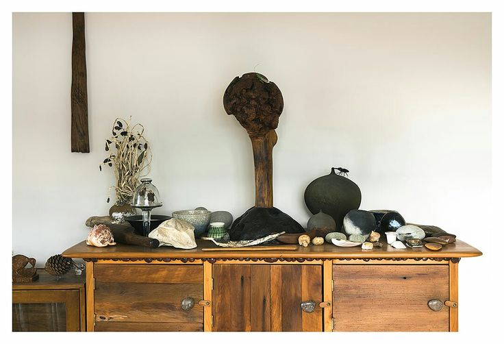Some goodies on a cabinet I cobble together
