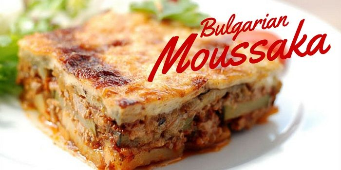 Moussaka is the perfect dish if you are in Bulgaria and want to experience traditional recipes. Here is the Moussaka recipe!