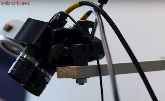Wireless camera system to monitor newborns' vital signs