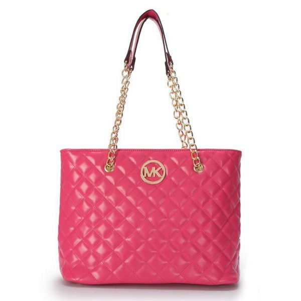 Perfect Michael Kors Quilted Large Pink Shoulder Bags, Perfect You