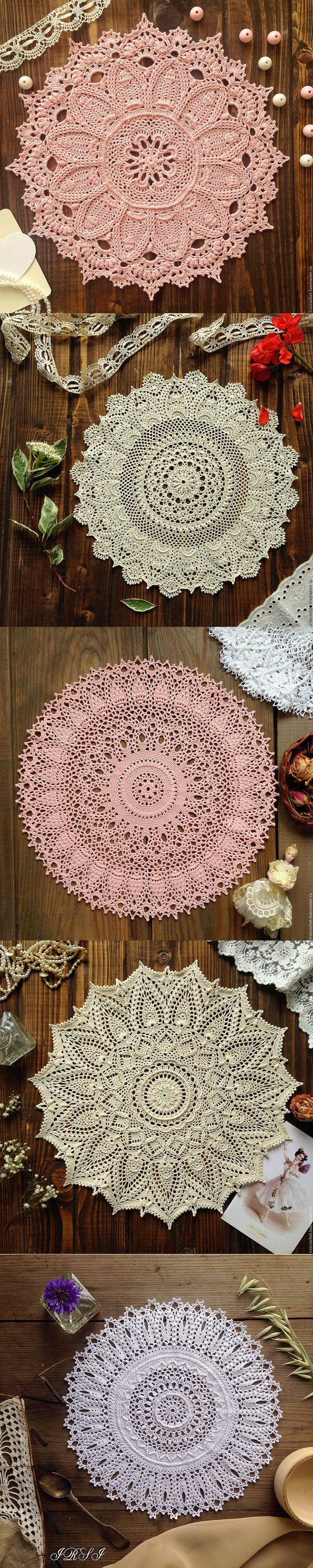 Beautiful crochet doilies by Ирина (IRSIcrochet)