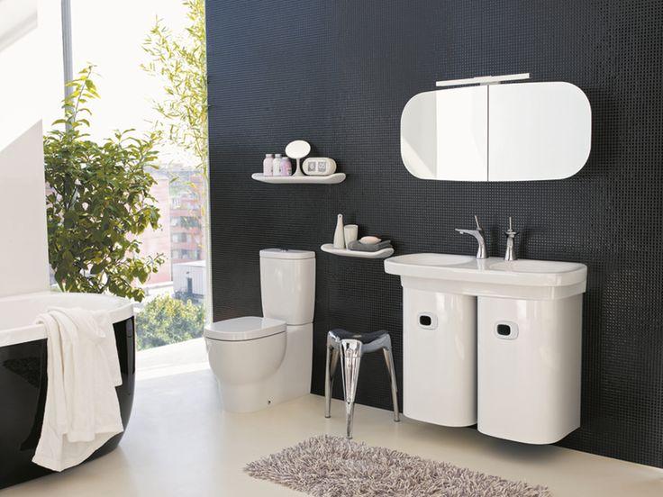 Baños de calidad  Pensado para los espacios modernos, la colección Mimo de Laufen aprovecha al máximo el espacio de cualquier baño para hacer algo especial de éste. Cerámica de alta calidad que añade frescura y color para crear el diseño que quieres.  Laufen exclusivo en Productos Arquitectónicos