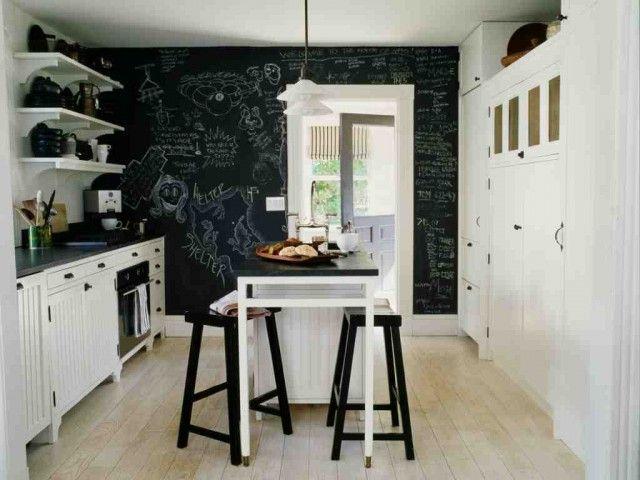 Kreidetafel in der Küche!