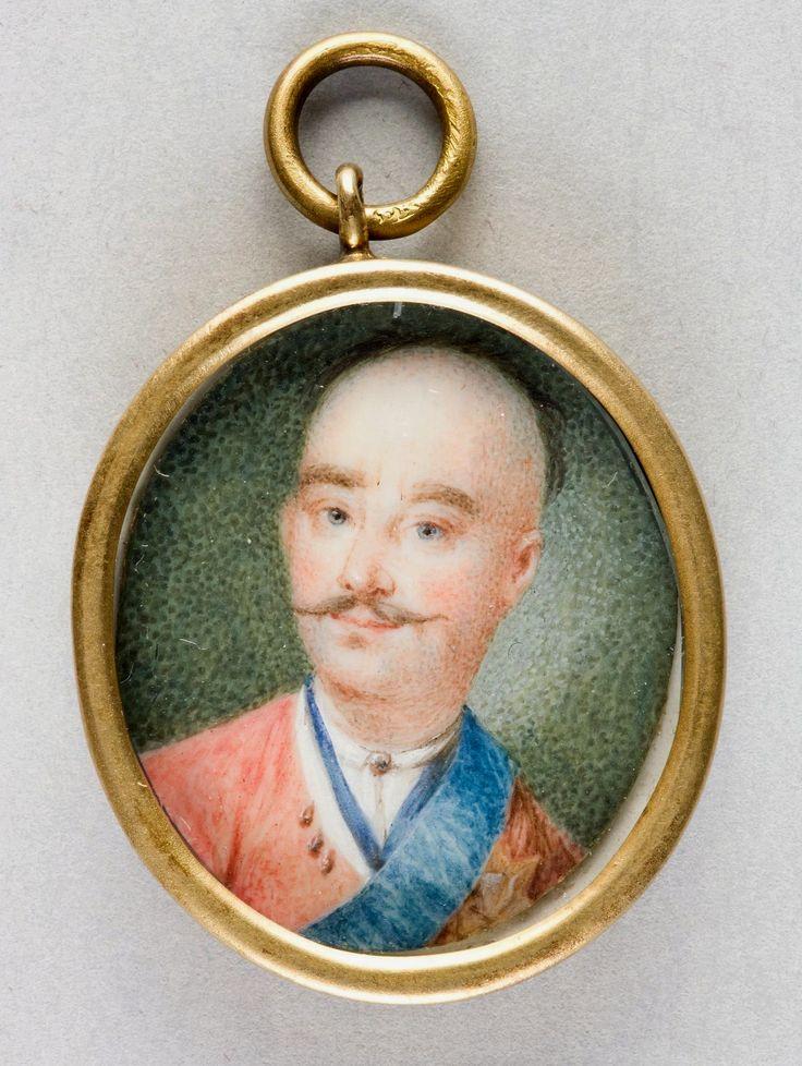 Miniature of Franciszek Salezy Potocki by Anonymous, ca. 1780, Muzeum Narodowe w Krakowie (MNK)