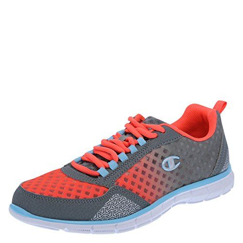 Champion Womens OrangeGrey Anomaly Runner 13 M ** Click image for more  details.(