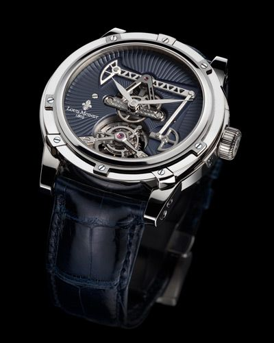 Louis Moinet -- Derrick Tourbillon-- with animated oil derrick on the dial! just about $300k