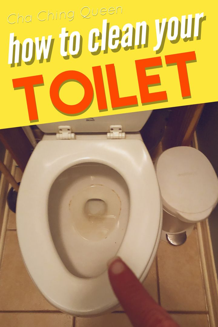 How To Clean A Toilet And How To Remove Hard Water Stains In 2020 Hard Water Stain Remover Cleaning Hard Water Stains