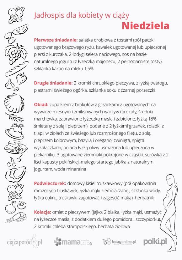 jadłospis w ciąży, odżywianie w ciąży, dieta w ciąży